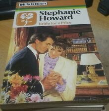 Bride for a Price by Stephanie Howard - HARLEQUIN MILLS AND BOON
