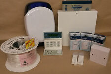 Scantronic 9651 EN41 Wired Intruder Alarm System LCD Keypad Bosch PIR's