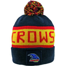 AFL ADELAIDE CROWS TRADITIONAL BAR BEANIE - BRAND NEW