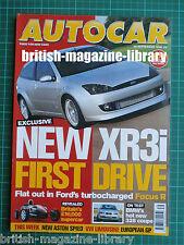 Autocar 29/9/1999 Ariel Atom Honda S2000 Road Test: BMW 328Ci Focus RS