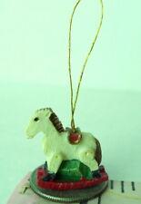 Rocking Horse Ornament tiny miniature