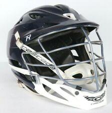 Cascade R Lacrosse Medium Navy Blue White Helmet Good Condition
