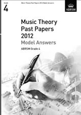 ABRSM TEORIA DELLA MUSICA esami 2012: modello risposte-Grade 4-spartiti musicali, NUOVO, B