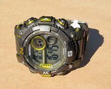 Miykon Black Gold Black Outdoor Digital Tough Watch FREE US SHIPPING