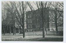 New High School in OTSEGO MI Vintage Allegan County Michigan Postcard