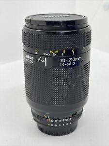 O639 Nikon 70-210mm f/4-5.6 Camera Lens - Works well