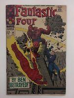 Fantastic Four #69 Silver Age 1967 Inhumans Stan Lee Jack Kirby