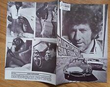 VANISHING POINT vintage 4-page Austrian Program 1971 Dodge Challenger R/T Newman