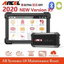 OBD2 Scanner Ancel X7 Bluetooth Full System ABS OIl EPB DPF Car Diagnostic Tool
