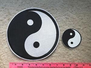Pair of Yin Yan patches > Martial Arts, Taekwondo, Harley HOG