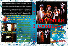 VIRTUAL Victorian Carolers, Christmas Singers, Songs  DVD,  by Jon Hyers