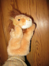 HAND PUPPET CUDDLY BARBARY LION ZOO SAFARI PRETEND THEATRE BELIEVE RAVENSDEN R