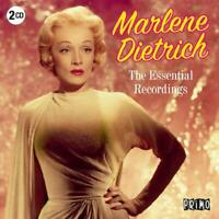 MARLENE DIETRICH - ESSENTIAL RECORDINGS  2 CD NEW+