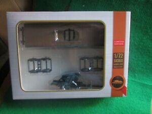 MODELCOLLECT AS72116 WW11 GERMAN 128MM FLAK 40 RAILWAY CAR (1:72 SCALE) NEW