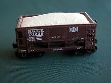 """Hay Brothers CRUSHED LIMESTONE LOAD - Fits HO Walthers """"Minnesota"""" IRON ORE Cars"""
