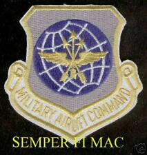 MILITARY AIRLIFT COMMAND PATCH US AIR FORCE MAC AFB MC130 WC130 C133 C125 C140