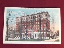 270 Y.M.C.A Building Grand Rapids Michigan Antique Postcard L@@k