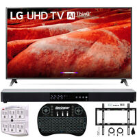 "LG 86"" 4K HDR Smart LED IPS TV with AI ThinQ 2019 Model + Soundbar Bundle"