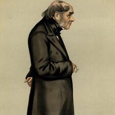 Sir Henry Bessemer Steel 1880 old Spy color caricature Vanity portrait print