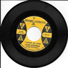 JACKIE deSHANNON - I Wanna Go Home/So Warm - Edison International #F-416 - 45rpm