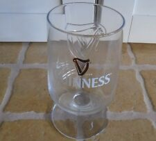 Genuine : GUINNESS IRISH STOUT BEER GOBLET STEMMED EMBOSSED RASTAL GLASSES