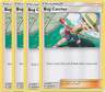 4x	Bug Catcher	189/236	- TRAINER -	Pokemon TCG Unified Minds