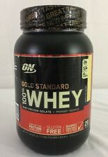 Optimum Nutrition ON 100% Whey Protein Gold Standard 2 Lb vanilla ice cream NEW