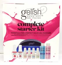 Harmony Gelish- COMPLETE STARTER KIT(LED Light + MINI Basix) + Pick Any 2 Colors