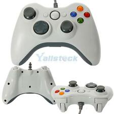 New Wired USB GamePad Joypad Game Controller Xbox 360 for Windows PC Game White