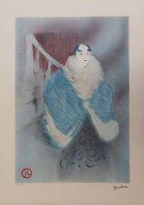 Henri de Toulouse Lautrec - Elsa la Viennoise #Lithographie signée #275ex