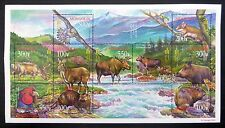 MONGOLIA 2003 Animals MS3008 Sheetlet of 10 Stamps U/M FP9597