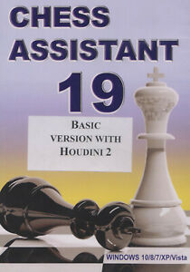 Chess Assistant 19  Basic (DVD). NEW CHESS SOFTWARE