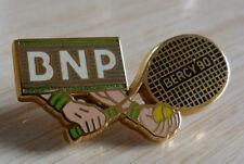 PIN'S SPORT RAQUETTE TENNIS BNP OPEN BERCY 90 ARTHUS BERTRAND