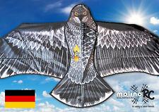 Wunderschöner Drache Adler inclusive 30m Drachenschnur aus BRD Winddrache