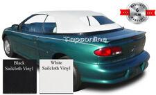 Cavalier & Sunfire Convertible Top W/Non-Heated Glass & Video Sailcloth 98-2000