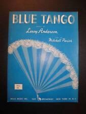 Blue Tango Vintage Sheet Music 1952 Mills Music Leroy Anderson Mitchell Parish O
