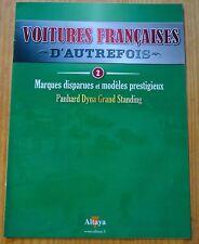 Voitures françaises d'autrefois, Altaya, n°2, Panhard Dyna Grand Standing