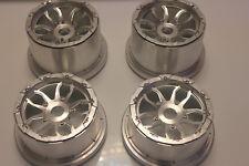 Baja cnc alloy nice wheel hub + beadlock for HPI baja 5b Rovan KM 4pcs