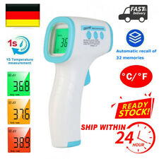 Fieberthermometer Stirnthermometer Infrarot LCD Kontaktlos Stirn Ohr Oberflächen