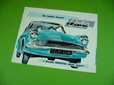 406ka2 leaflet, brochure Ford Nederland (to 1959): de totáál Nieuwe Anglia