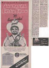 RAYMOND FROGGATT : CUTTINGS COLLECTION -adverts-