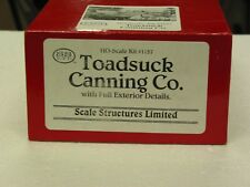 Scale Structures Ltd. - 1157 - Toadstuck Canning - HO Scale
