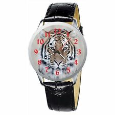 Tiger Portrait Stainless Wristwatch Wrist Watch