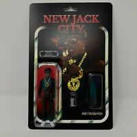 Retroband New Jack City Nino Brown Action Figure Rare