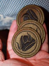 US Army 47th Infantry Shoulder Patch Black & green camo