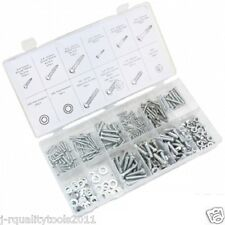 347 PC PIECE METRIC SIZE NUT AND BOLT SCREW ASSORTMENT HARDWARE KIT