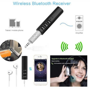 Drahtloser Bluetooth Adapter 3,5 mm Aux Audio Musikempfänger Stereo
