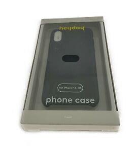 heyday Apple iPhone X/ XS Cell Phone Case Silicone Dark Gray New in the Box