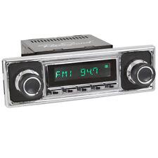 für BMW MERCEDES VW  RetroSound Oldtimer Auto Radio DAB+ FM USB Bluetooth AUX-in
