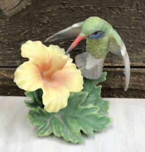 Lenox Collection Broad Billed Hummingbird Porcelain Figurine 1992 Garden Bird